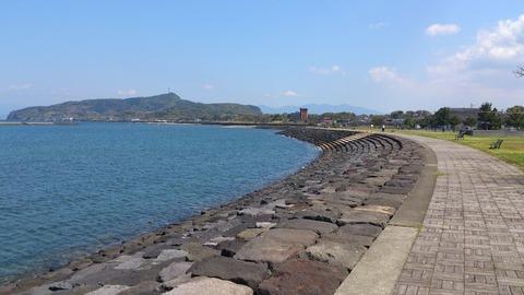 宮ヶ浜港防波堤