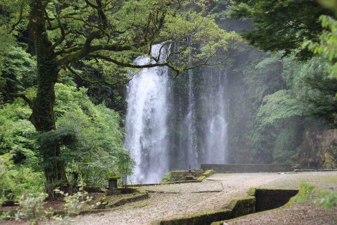 滝之下大滝公園:鹿児島市内中山にある知られざる大滝