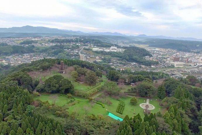 【日置市】一宇治城跡(城山公園):ザビエルが訪問した島津家による薩摩大隅平定の拠点