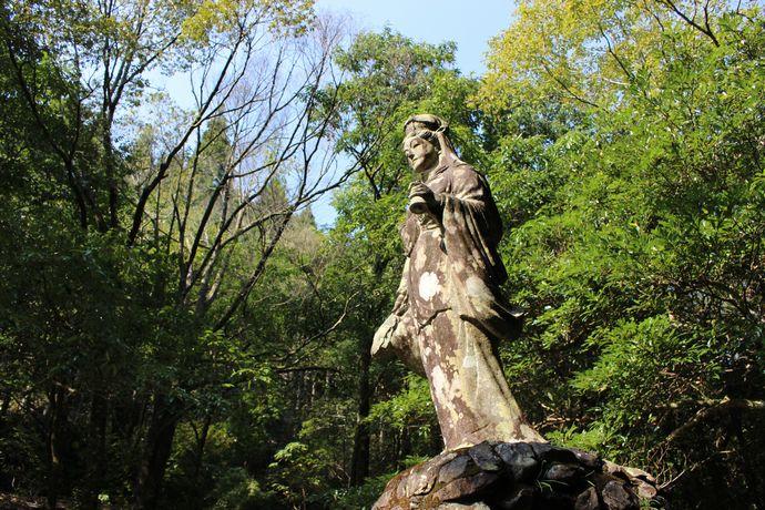 城水渓谷:下福元の山奥におる渓谷で涼む