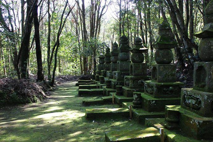 喜入肝付家墓所(玉繁寺跡):苦難の戦国期から小松帯刀に続くルーツ