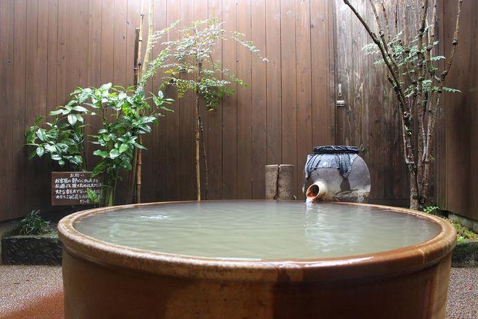 家族温泉 野の香:指宿の山中にある人気の温泉
