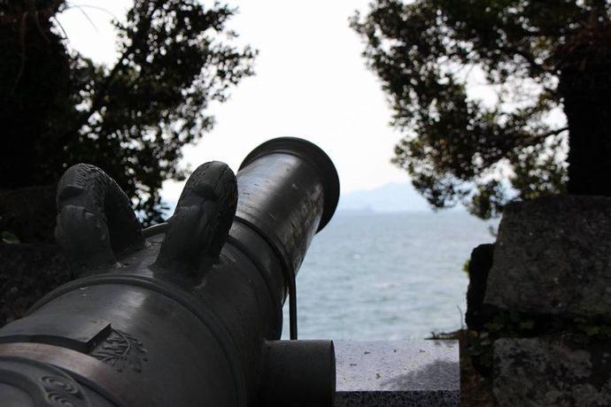 台場公園:当時の原型をはっきり残す薩英戦争砲台跡 @南大隅