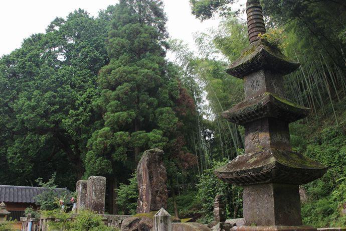 島津義久公墓所(金剛寺跡・徳持庵跡):分骨埋葬された九州の覇者