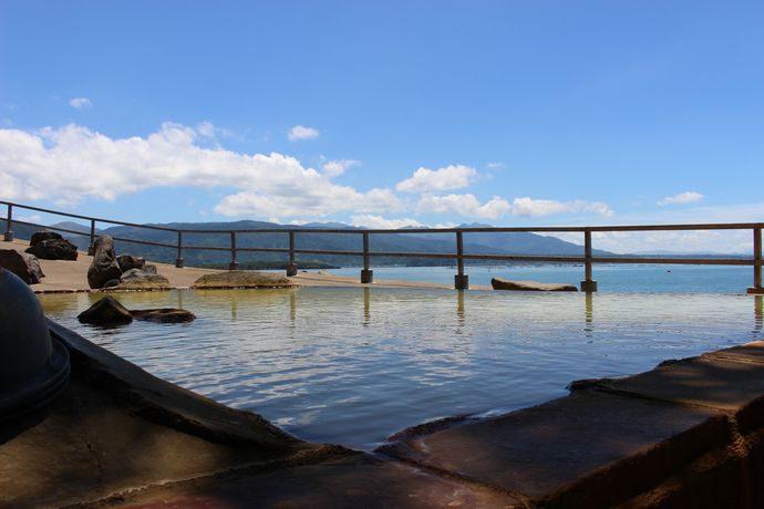 景色の良い鹿児島の温泉