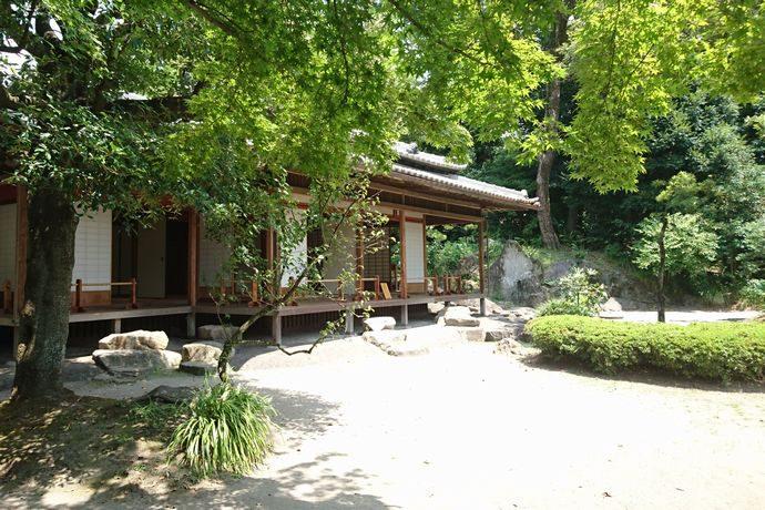 旧島津氏玉里邸庭園:知らない人が多い?市内中心部にある国指定の名勝