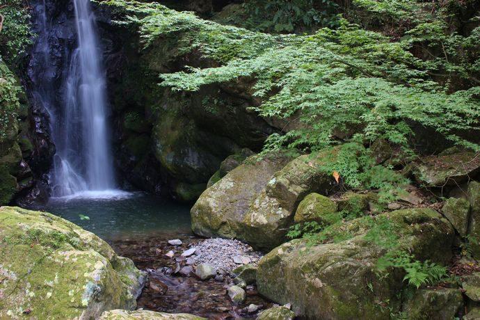【さつま町】紫尾山 一ノ瀬滝:千尋の滝に続く第一の滝