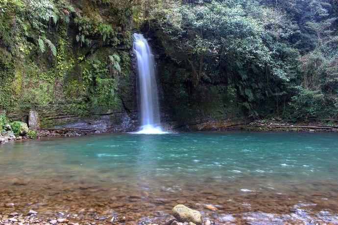 【薩摩川内市入来町】朝陽轟滝:滝探索をした事がない人にもおすすめしたいお気軽スポット