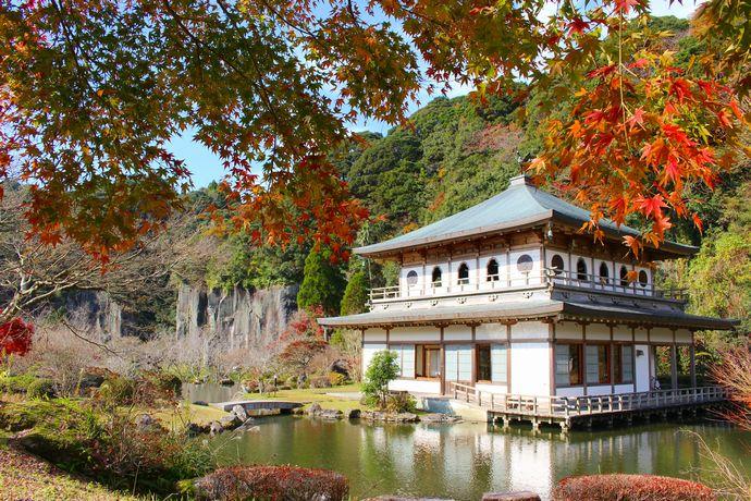 【南九州市川辺町】岩屋公園の紅葉