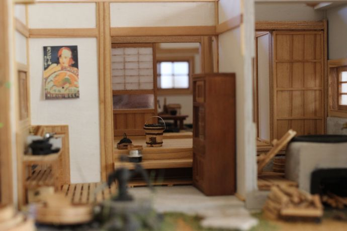 ミニチュア木工工房ミニモク:木と真鍮によるこだわりの手作り!工法も細部も本物に忠実な技術に脱帽!!