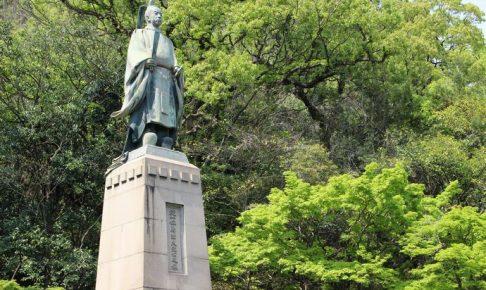 島津久光公の銅像