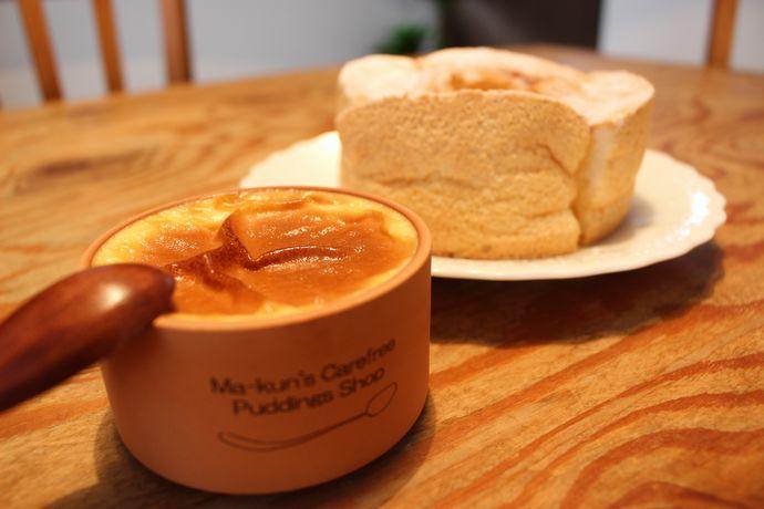 【鹿児島市下荒田】まぁくんの気ままなプリン屋さん:シフォンケーキとプリンの至高のコラボを体感しよう!