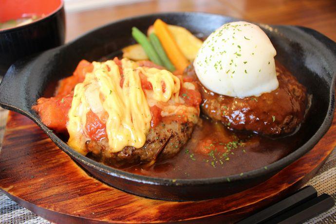 【鹿児島市坂之上】洋食亭かんぱねら:独自の五つのソース×黒豚黒牛合い挽き肉で作られたハンバーグに歓喜!