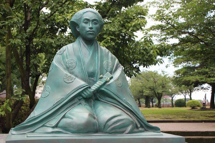 乃木静子 像:明治の混乱に翻弄されながらも良妻賢母とうたわれた乃木将軍夫人