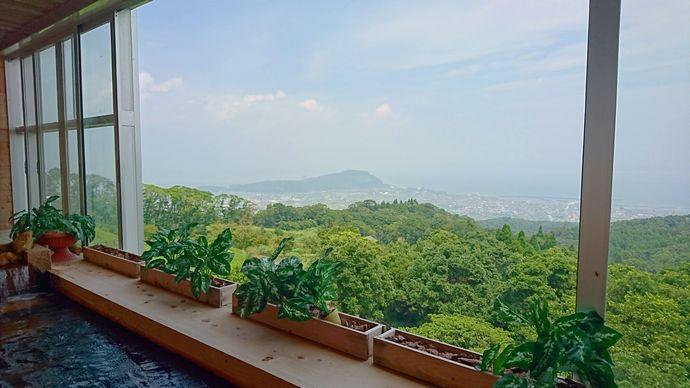 指宿ベイヒルズ HOTEL&SPA:山の上の展望大浴場でゆったりと