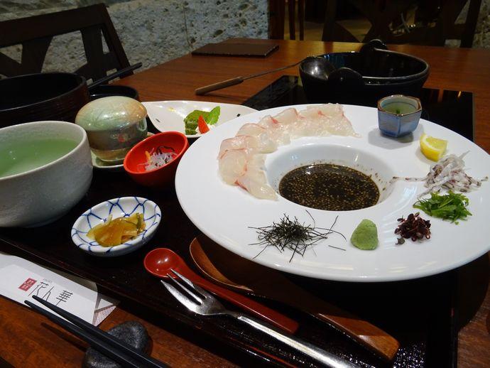 健美和楽 花ん華:奄美の里が誇る創作奄美料理を楽しむ!