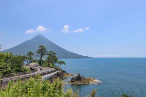 【南九州市頴娃町】瀬平自然公園と頴娃の茶畑の風景
