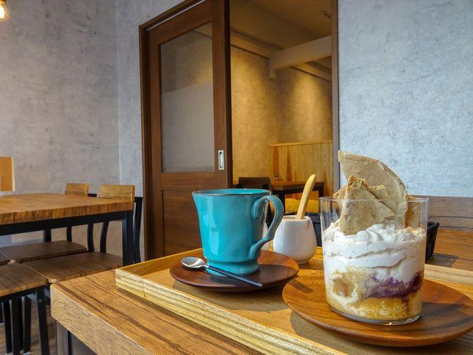 Call at Cafe(コールアットカフェ):エアロプレス抽出のコーヒーや人気フレンチレストラン監修のフードメニューがたまらない!【鹿児島市天文館】
