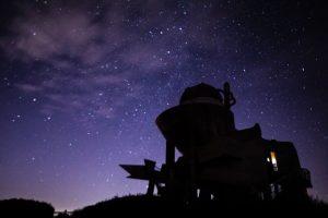 【鹿屋市輝北町】輝北天球館:星空と建築美が融合した天体観測スポット