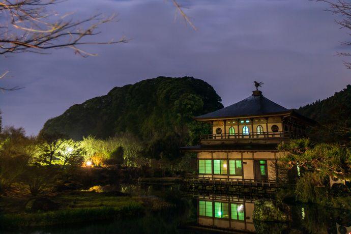 鹿児島の夜景(岩屋公園)