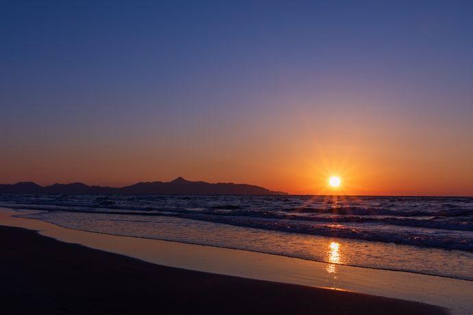 吹上浜の観光なら夕日は外せない!って話【日置市吹上町】