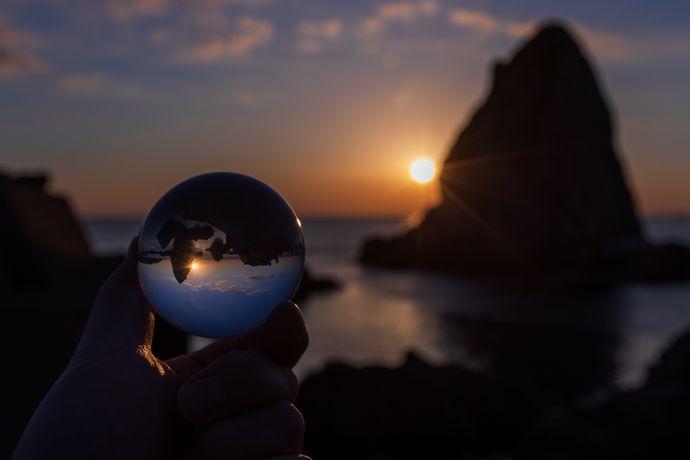 鹿児島の夕陽スポット