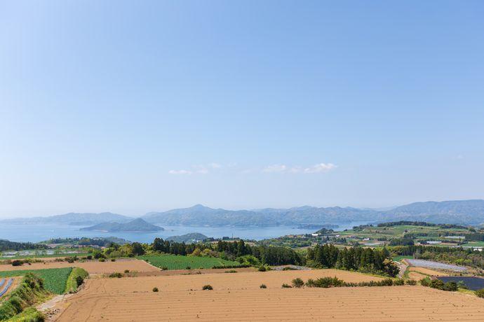 仮称 茶畑公園:ビュースポット満載の長島に新たに誕生した展望台