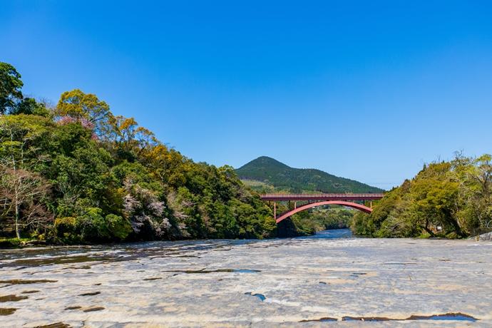 花瀬自然公園の景色