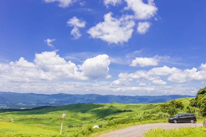 湧水町が誇る高原の風景!上床牧場と陸上自衛隊霧島演習場