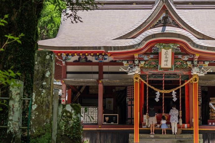 花尾神社と大平の棚田で夏の風景を探しに