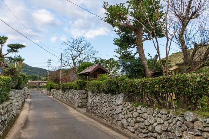 甑島に残る里武家屋敷跡を訪ねてみた