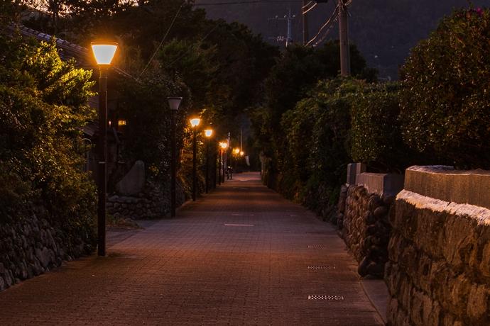 手打麓の武家屋敷跡は夕暮れ散歩がおすすめ!【薩摩川内市 甑島列島】