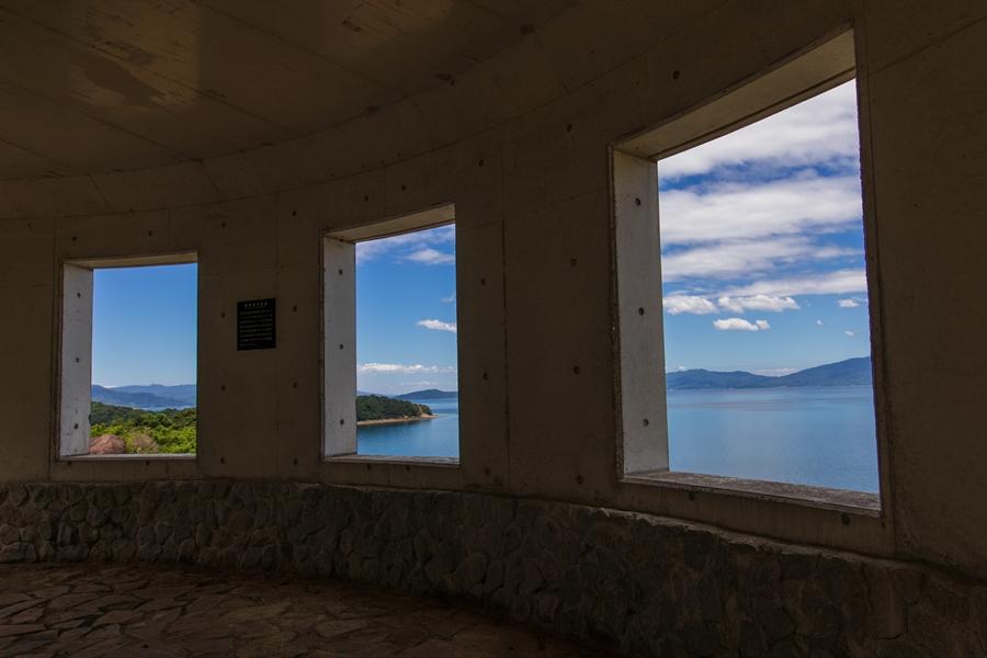 獅子島の鉈崎望洋回廊と七郎山展望台を巡る